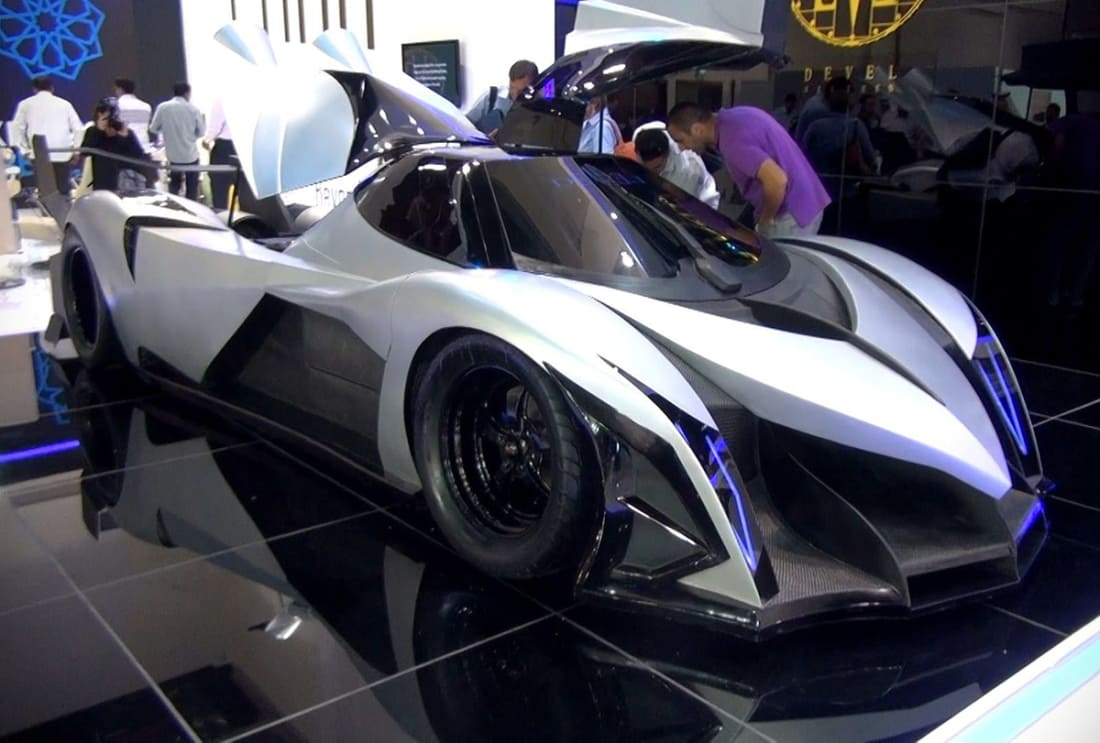 At First Glance The Devel Sixteen Doesnt Really Look Like A Real Car It Looks Prop That You Would Expect On Set Of Latest Sci Fi Racing