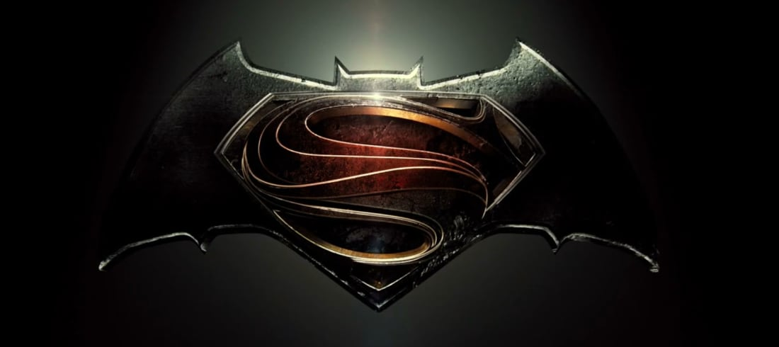 The Batman V Superman Logo