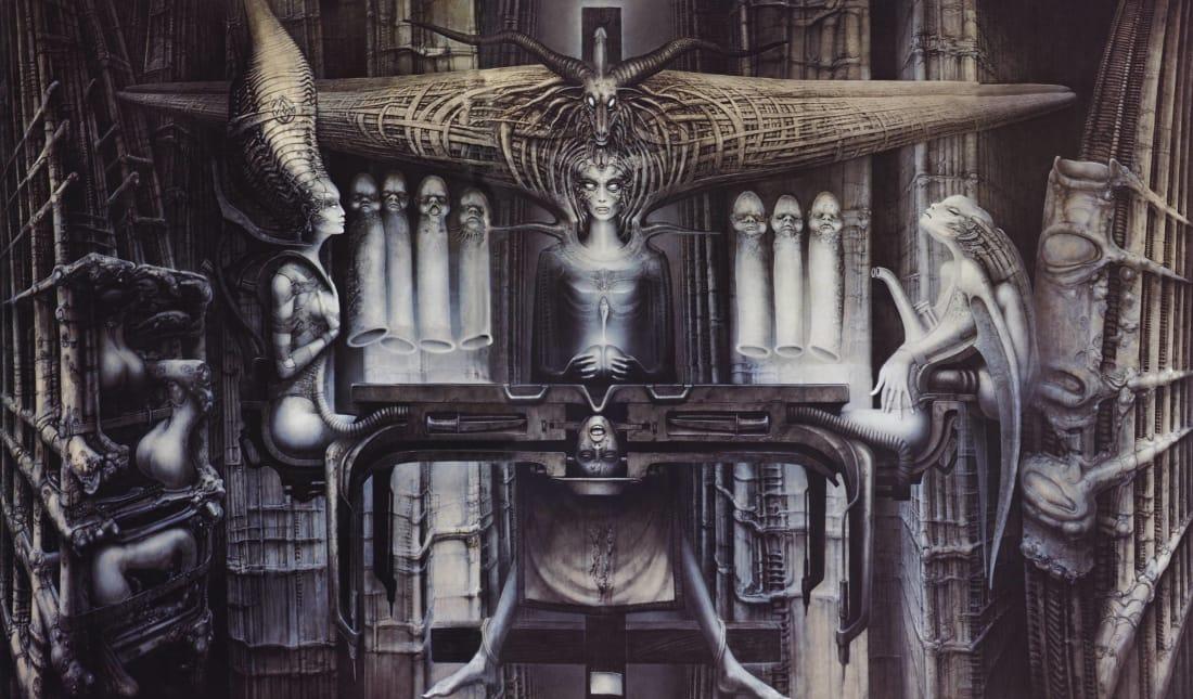 Best H.R. Giger Illustrations | Futurism H.r. Giger Art