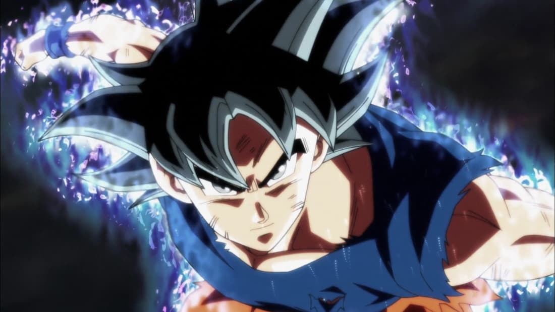 so this is the power of ultra instinct