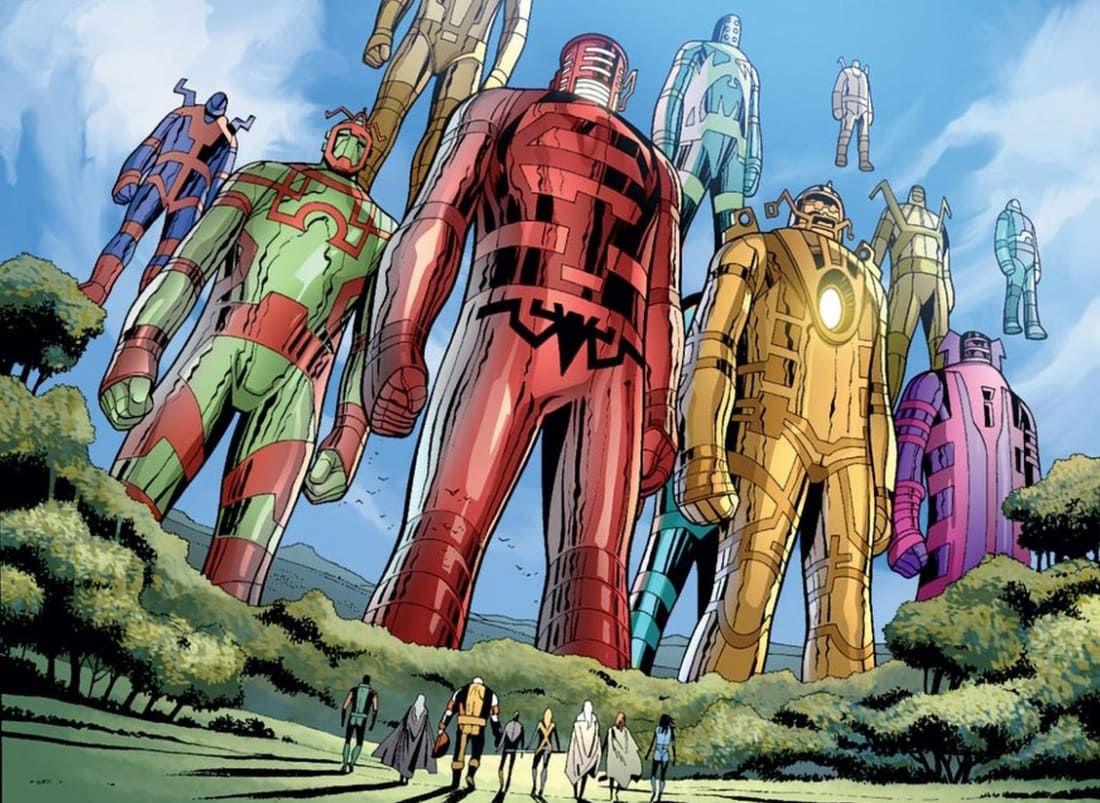 Marvel Fan Theory: Are The Celestials The Surprise Main