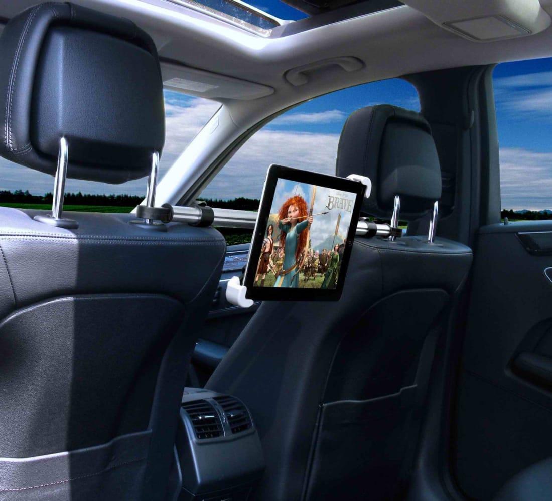 10 best headrest mounts for your ipad or tablet for your backseat buddies wheel. Black Bedroom Furniture Sets. Home Design Ideas