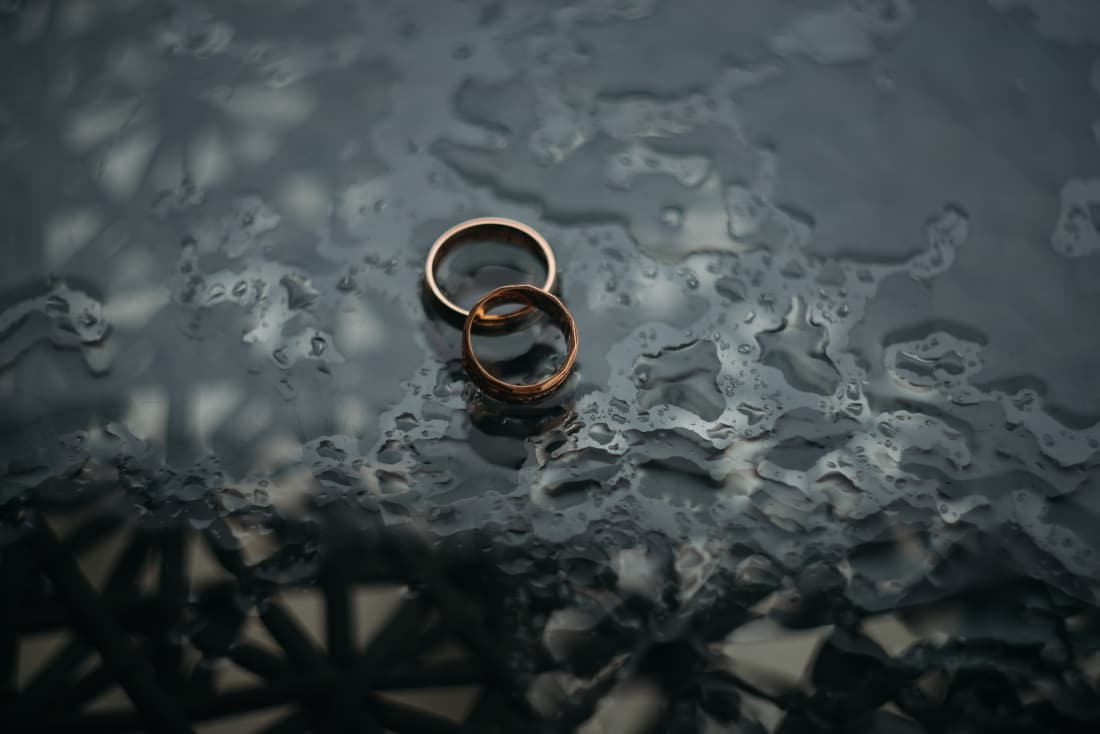 10 will take about the wedding ring, which you did not know exactly
