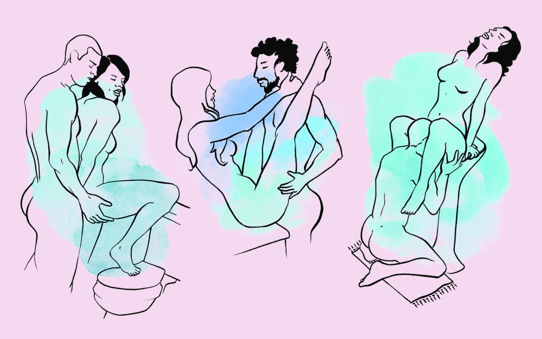 Best positions for sex in the shower