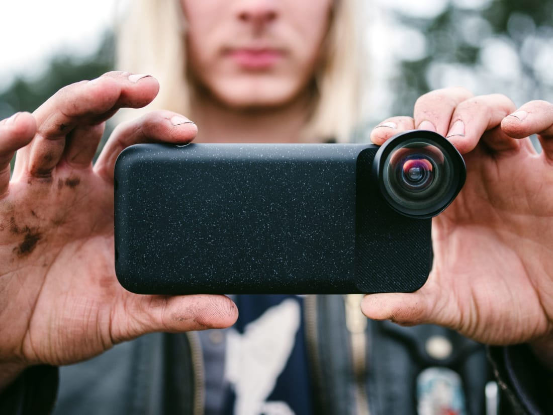 huge selection of b94a5 7354c These iPhone X Camera Attachment Lenses Will Take Your Photography ...