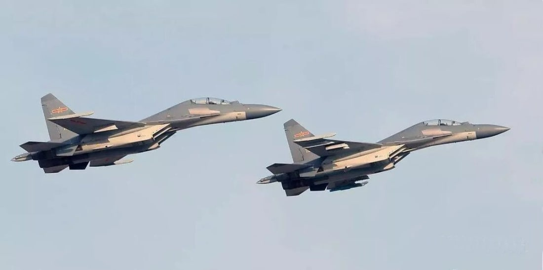Chinese J-16 Fighter Jets Reveal Extra Terrestrial Intelligence