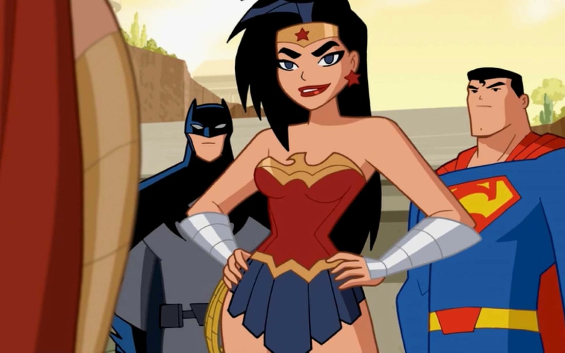 Makes you wonder why tf has there never been a wonder - Superman wonder woman cartoon ...