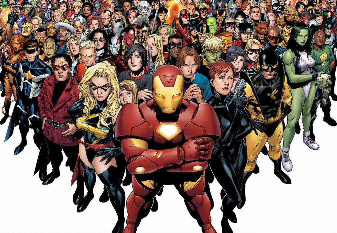 In Marvels Comic World Many Heroes Have The Benefit Of Being An Alien Having Powers Or Both However There Are More Than A Handful That