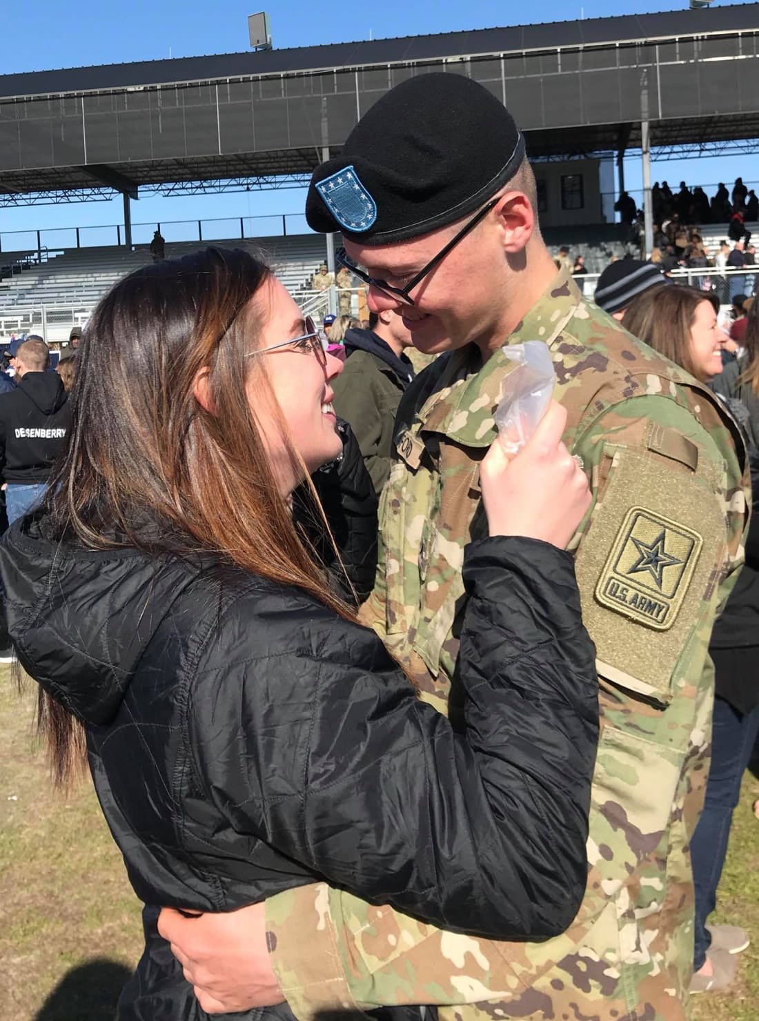 Military boyfriend