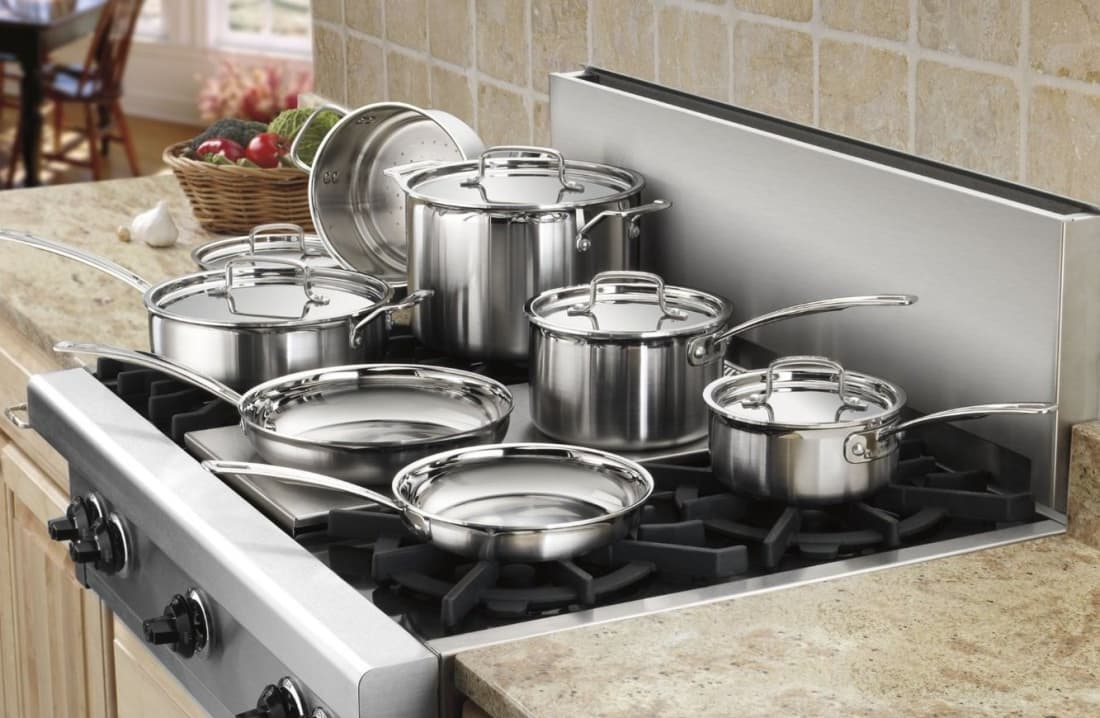 Overwhelmed by all the options for stainless steel cookware sets weve covered all the basics of shopping for your next best culinary companions