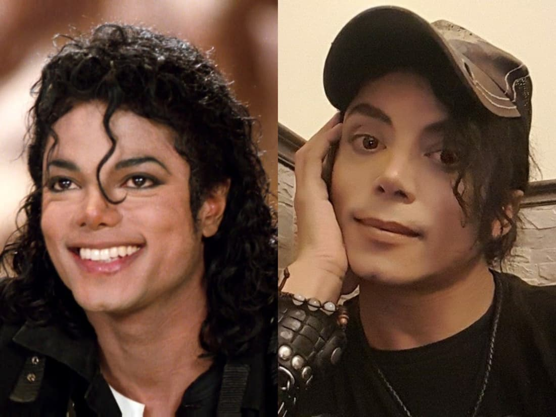 This Woman's Boyfriend Looks Exactly Like Michael Jackson, and