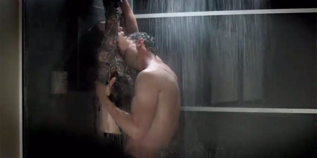 Filthy shower sex