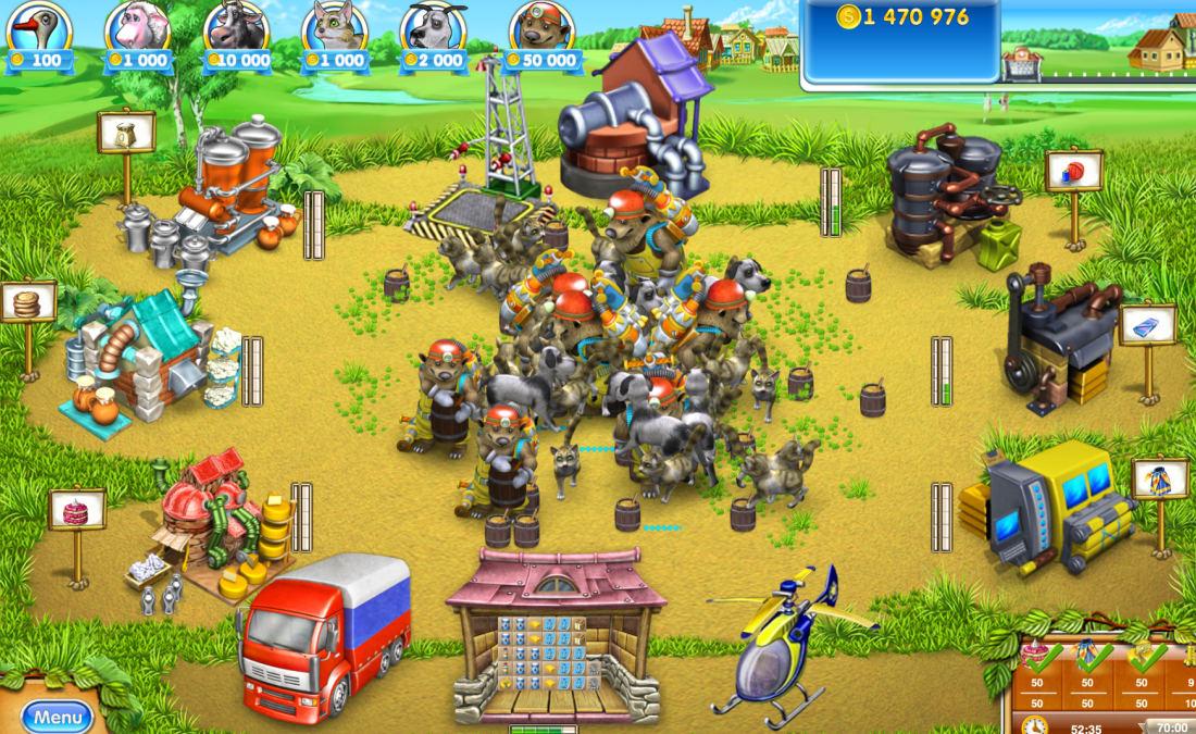 Farm Frenzy 3: Russian Village'   Gamers