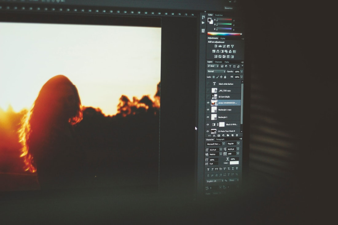 Professional and amateur photo processing