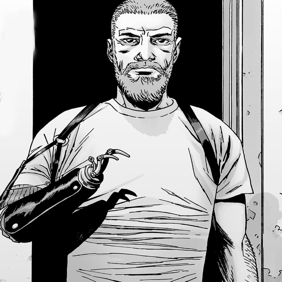 The Walking Dead Comics Vs TV Show