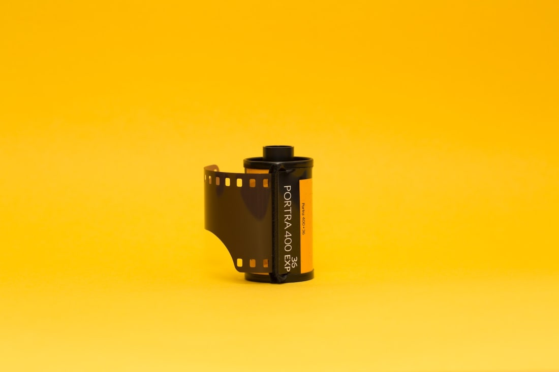 best medium format film for ambient lighting photography