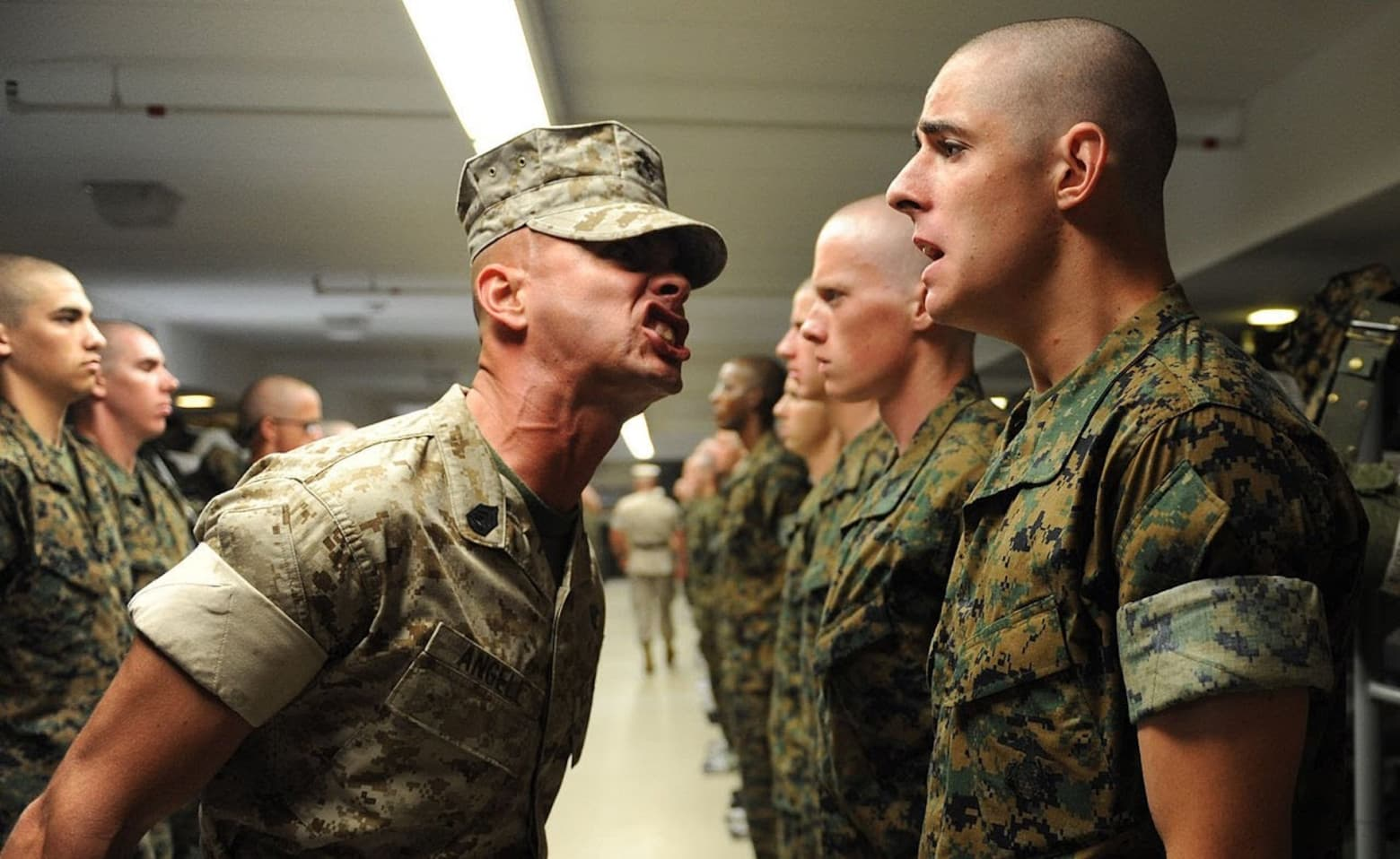 Basic Training Photos >> How To Survive Marine Corps Basic Training Serve
