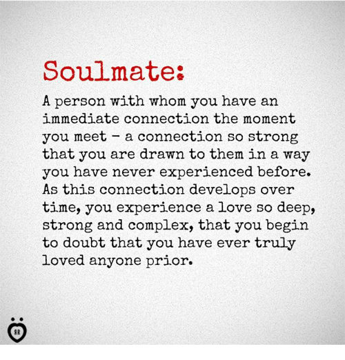 Where will i meet my soulmate