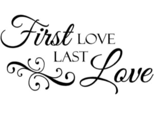 Did you find it hard to get over your first love?