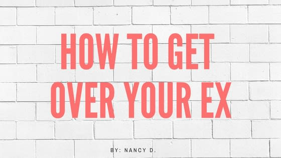 what if you can t get over your ex