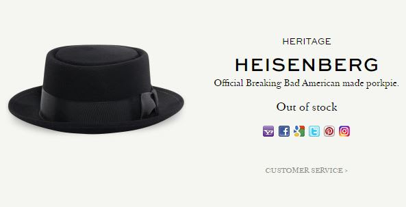 History of the Heisenberg Hat from  Breaking Bad   01502c93679