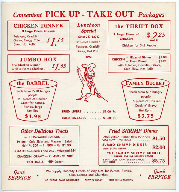 1950s Food 58 Vintage Recipes Worth Trying Today: Vintage Fast Food Menus That Look Way Better Than Today's