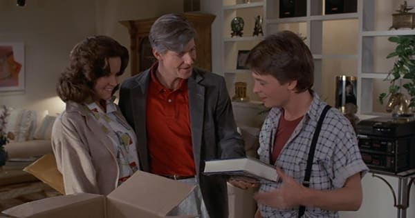 The Original 'Back To The Future' Screenplay Confirms George