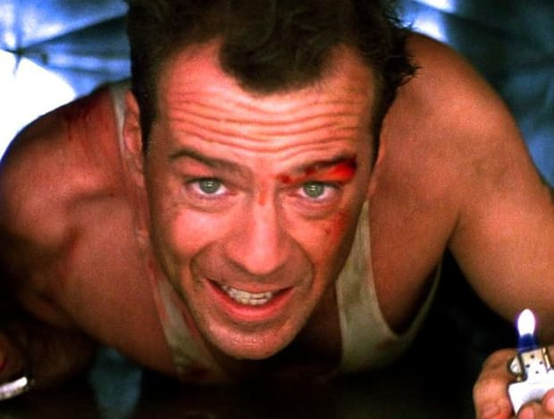 the book is an abridged adaptation of the first die hard with a extra christmas twist on it