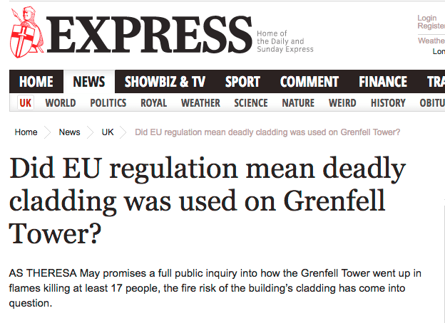 Grenfell Tower Fire and the Dominate Ideology | The Swamp