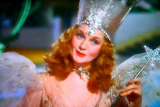 Image result for glynda goodwitch the wizard of oz