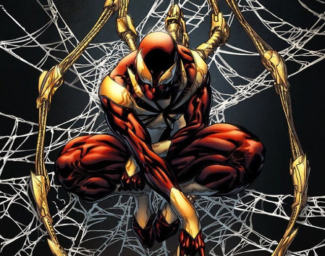 Image result for iron spider comics