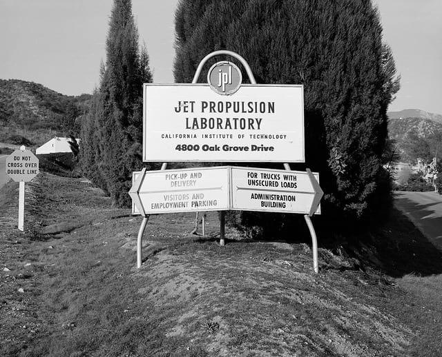 a497c693e76e1 The Jet Propulsion Laboratory in 1957, a year before the creation of NASA.  Photo courtesy of NASA JPL.
