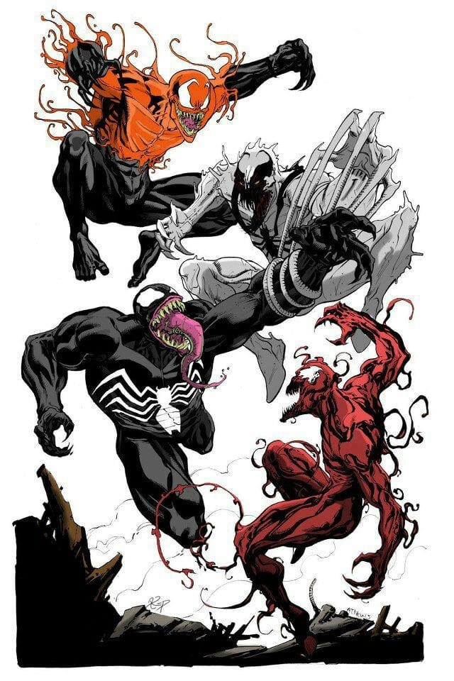 Venom Movie? Carnage, Anti-Venom, Toxin, other symbiotes ...