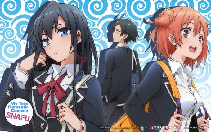 Anime My Teen Romantic Comedy SNAFU Genre Slice Of Life Drama Age Rating Good For All Studio Brains Base Music Monaca