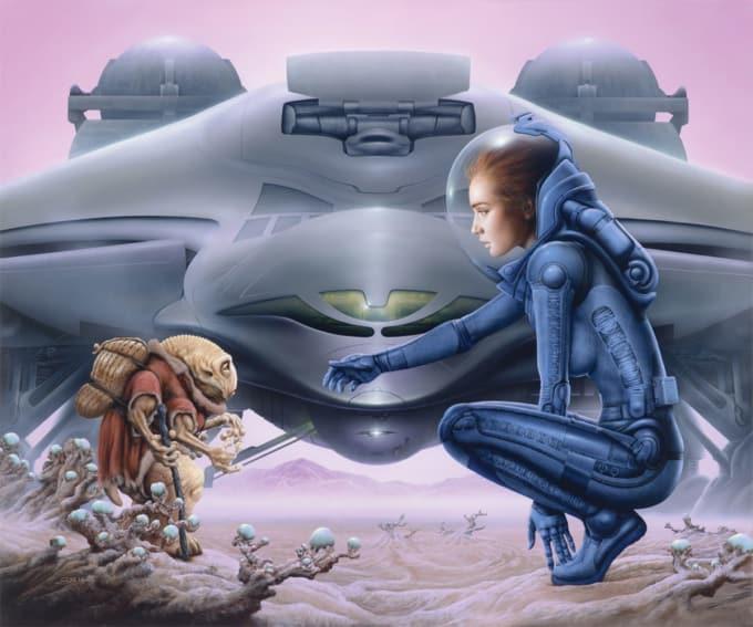 Greatest Sci Fi Artists Of All Time Futurism