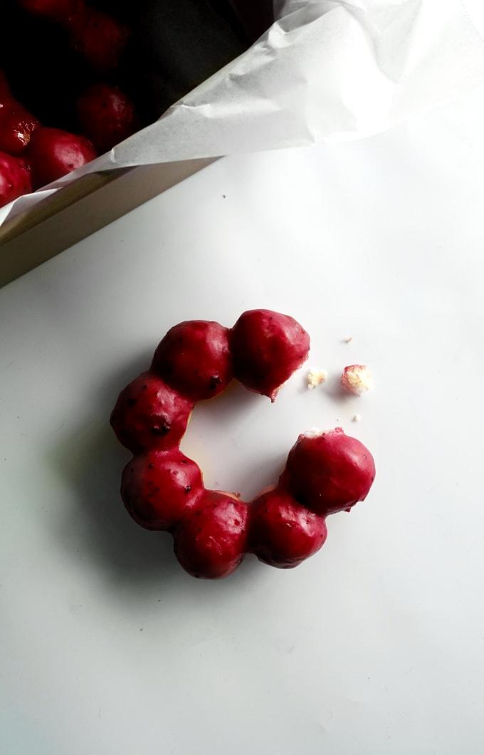 Lemon and Blueberry Mochi Donut (Pon de Ring)   Feast