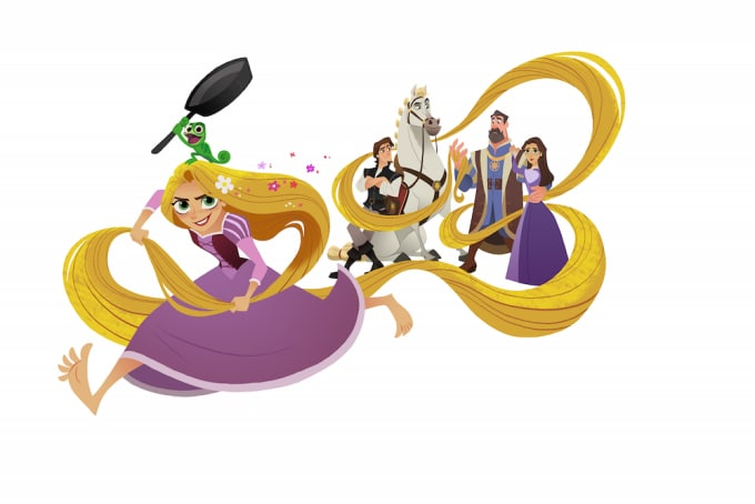best day ever first look at disney channel s new tangled