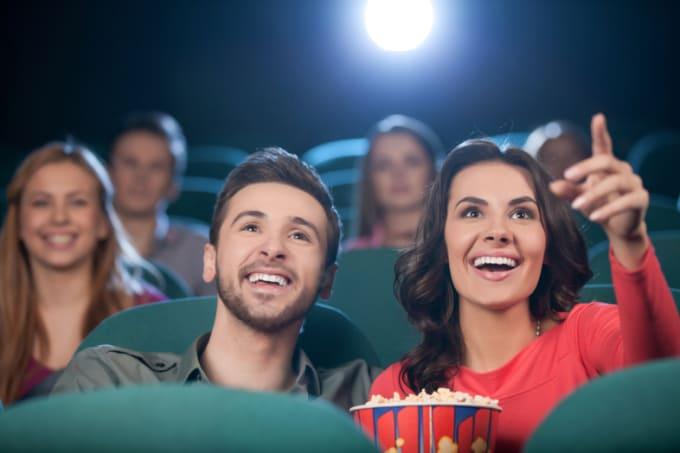 people talking during movies