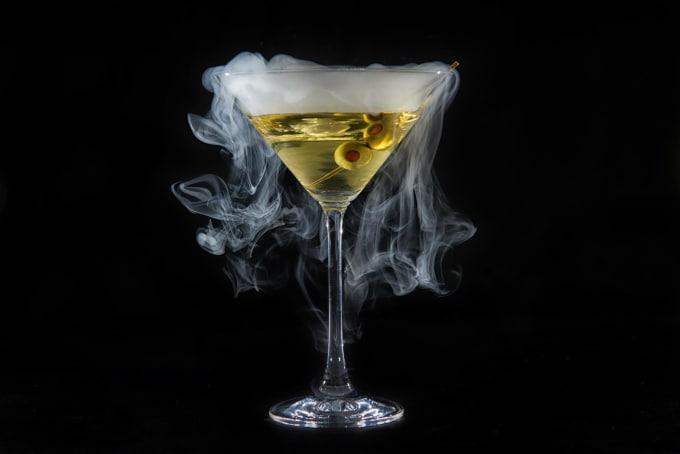 how to make smoke cocktails