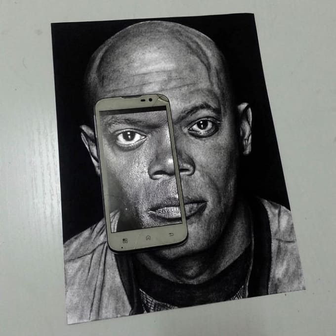 Image of: Techniques Ive Had It With These Goshdarn Incredibly Realistic Drawings On This Freaking Article Geek Media Are They Photos 20 Realistic Celebrity Drawings You Have To See To