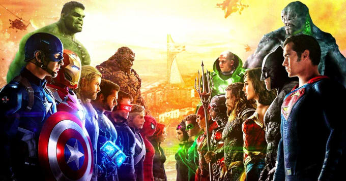 Marvel vs DC: Superhero Showdown