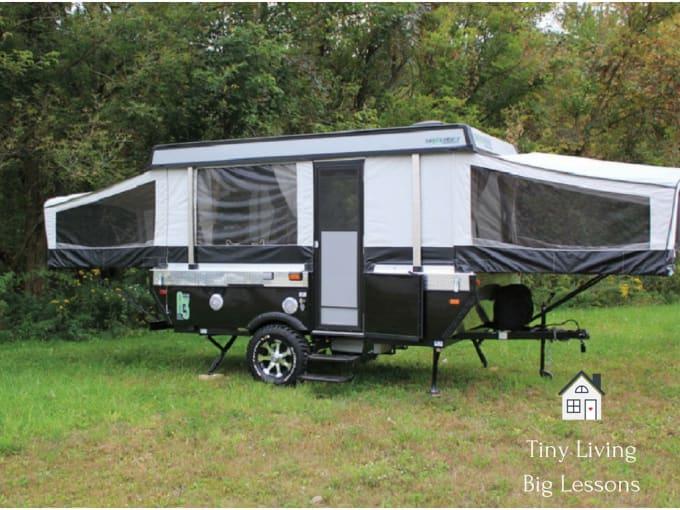 Living In A Pop Up Camper : Tiny Living, Big Lessons: Living in a Cheap Pop Up Camper ...