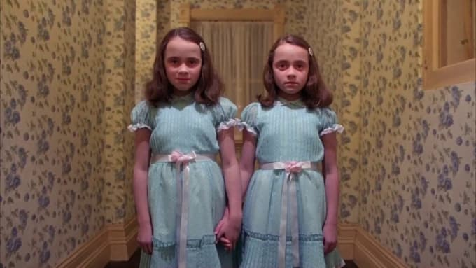 about the only thing that tops saw himself would be the creepy twin sisters from the shining you wont be adding height to your halloween costume
