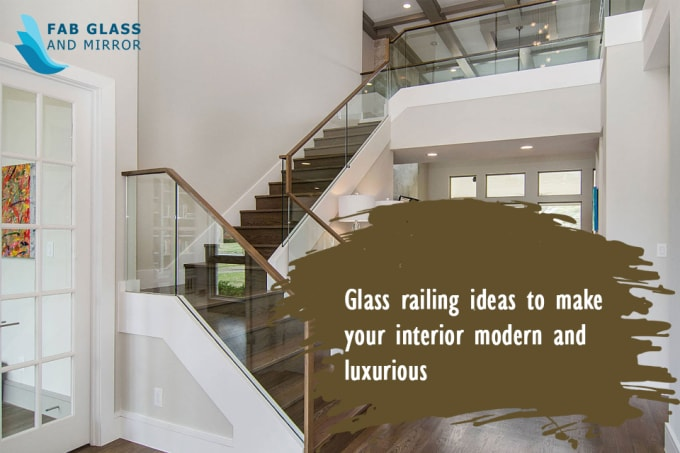 Glass Railing Designs For Stairs 5