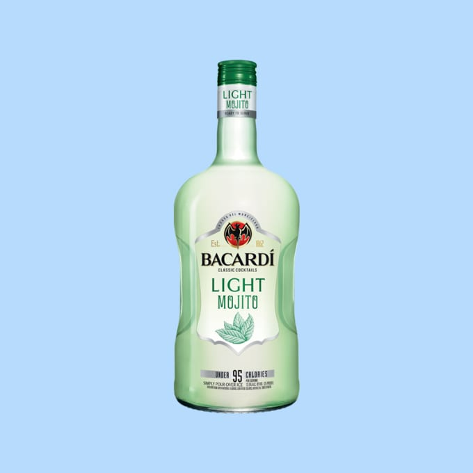 Bacardi Light Mojito Has 95 Calories And Is The Ideal Blend Of Rum And A  Mint Flavor. Whether You Are Relaxing By The Pool Or Having A Large Party,  ...
