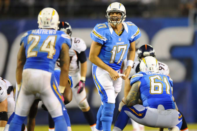 Has there ever been a more obvious number one  The Chargers powder blue  throwbacks are by far the best looking uniforms in NFL history. cf67e2798