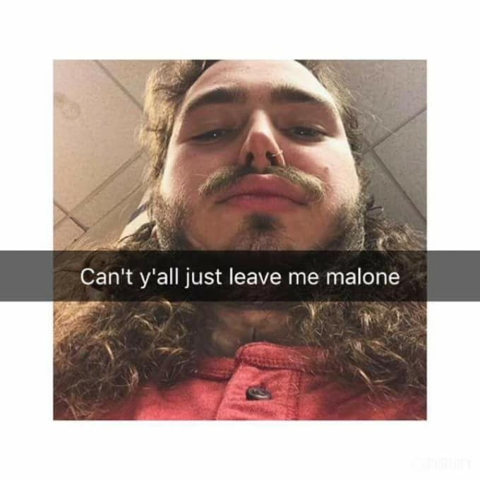 Funniest Post Malone Memes To Grace The Internet Beat