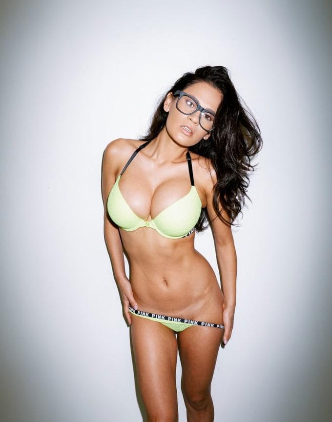 boobs big Thick long latina and legs