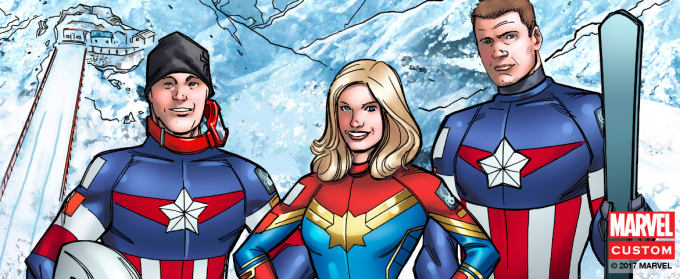 The U S  Ski Team Officially Has Marvel-Inspired Superhero