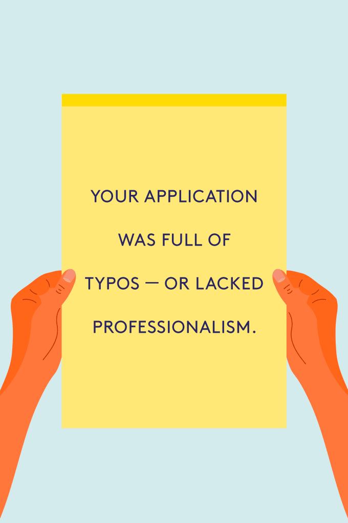 worst job application mistakes to avoid